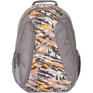 WILDCRAFT CAMO 3 BACKPACK BAG - ORANGE