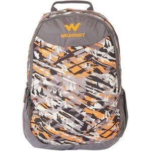 WILDCRAFT CAMO 1 BACKPACK BAG - ORANGE