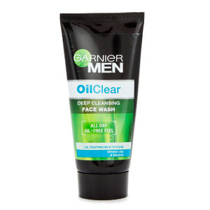 GARNIER MEN OIL CLEAR FACE WASH 100G