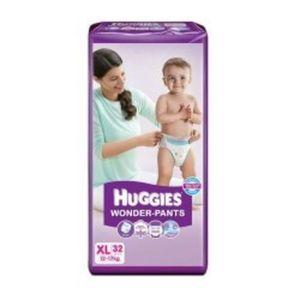 HUGGIES WONDER-PANTS XL 32PCS 12-17 KG