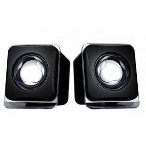 TeraByte Usb Mulitimedia Glass Speakers E-02B