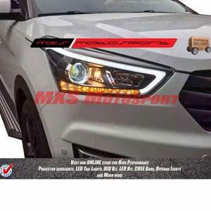 MXSHL375 Projector Headlights Hyundai Creta with DRL's & Matrix Mode