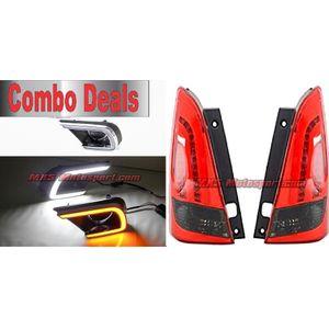 MXS2554 Led Tail Lights & Led Daytime Fog Lamps Toyota Innova Combo Deal