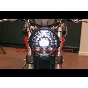 MXSHL405 Tech Hardy Stage  2 Led Adaptive Headlight Ducati Motorcycle