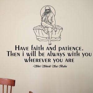 Wall Decal Have Faith…