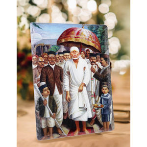 Shri Shirdi Sai Leela Ceramic Photo