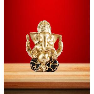 Lord Ganesha Idol (Golden)
