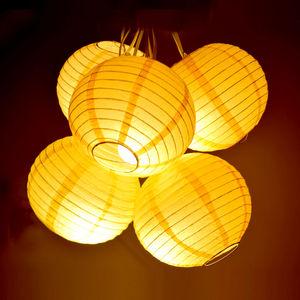 Paper Lamp ( Set of 5)