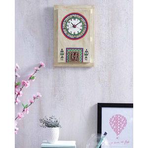 Simmer Gold Dhokra Clock