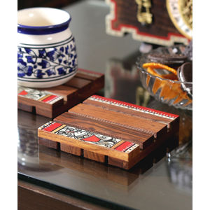 Ethnic Coasters Set of Four