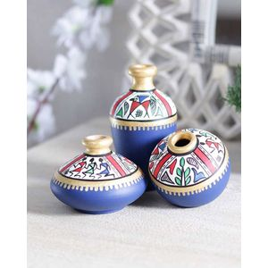 Blue Warli Miniature Set