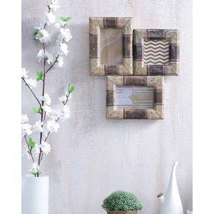 Handmade Wood Wall Photoframe