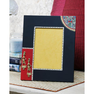 Black Dhokra Photoframe