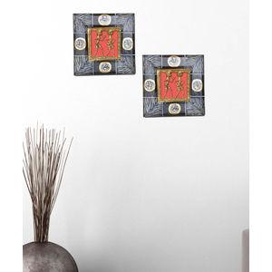 Dhokra Wall Hanging Set