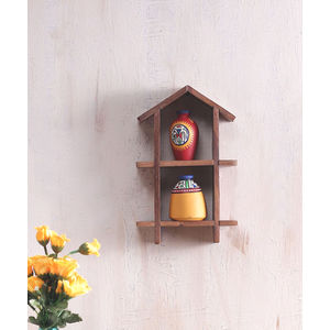 Ethnic Wall Hanging with Handpainted Warli Terracota Pots