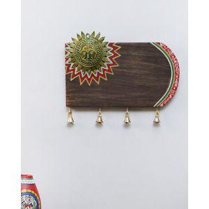 Hand Made Dhokra Sun Name Plate