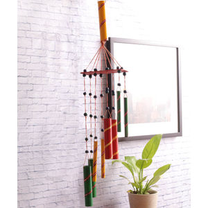 Hand Painted Multicolor Wind Chimes