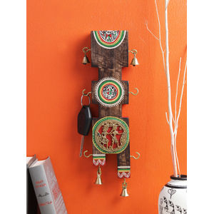 Dhokra Key Hook Panel