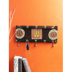 Handcrafted Dhokra Key Hook