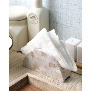 Sea Shells Tissue Holder