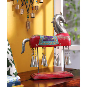 Handcrafted Horse Bell Decorative