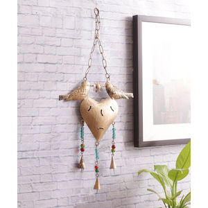 Hanging Bird Bell Decorative