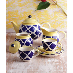 Hand Made Ceramic Tea Set
