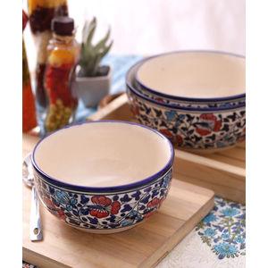 Hand Made Ceramic Serving Bowls Set of Three
