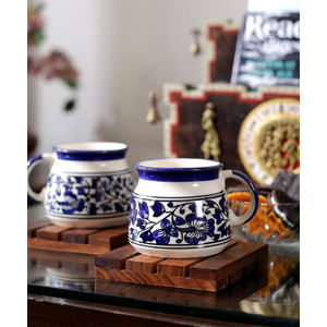 Ceramic Mughal Tea/ Coffee Cups Set of Six