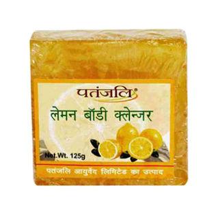 Patanjali Lemon Body Cleanser Soap - 125 gm