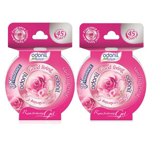 Odonil Gel Rose 75g - Pack of 2