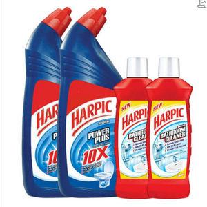 Harpic Powerplus Original 1 L + Free Bathroom Cleaner 200 ml (Pack of 2)