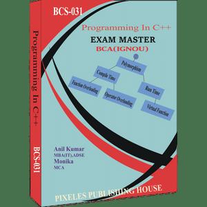 BCS-031: Programming in C++