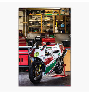 """1991 """"Castrol"""" Honda VFR400R NC30   Poster"""