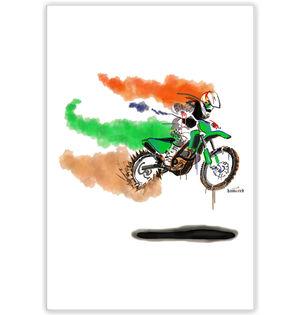 Fastest Indian | Artist: Hamerrd49 | Poster