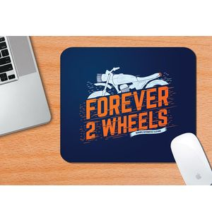 FOREVER 2 WHEELS | Mouse Pad