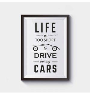 Boring Cars | Frame