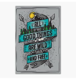 Wild and Free | Poster