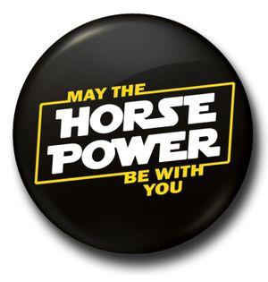 Horse Power | Badge