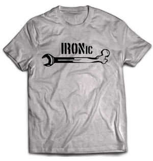 IRONIc Official - Grey
