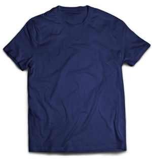 Classic Navy Blue Plain T-Shirt