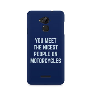You Meet The Nicest People On Motorcycles - Coolpad Note 3