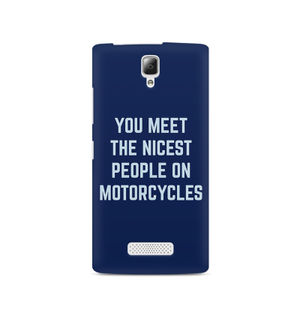 You Meet The Nicest People On Motorcycles - Lenovo A2010