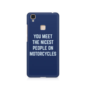 You Meet The Nicest People On Motorcycles - Vivo V3 Max