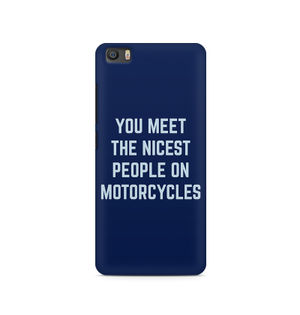 You Meet The Nicest People On Motorcycles - Xiaomi Redmi 5