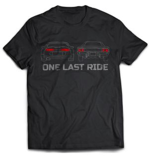 One Last Ride - Black | Tshirt