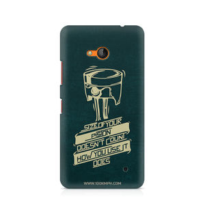 Piston - Nokia Lumia 640 | Mobile Cover