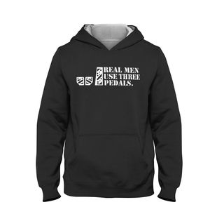 REAL MEN USE THREE PEDALS | Hoodie