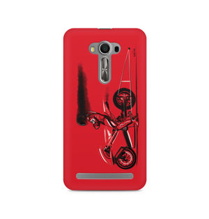 RED JET - Asus Zenfone 2 Laser ZE550KL | Mobile Cover