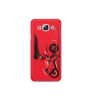 RED JET - Samsung E7 | Mobile Cover